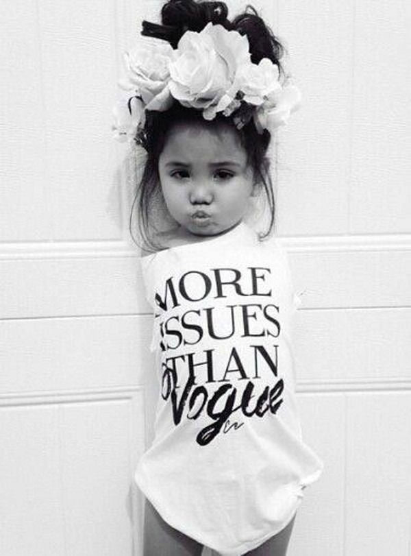 More issues than Vogue Kids T-shirt