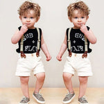 Baby Boy Summer Outfit Clothes 2pcs/set