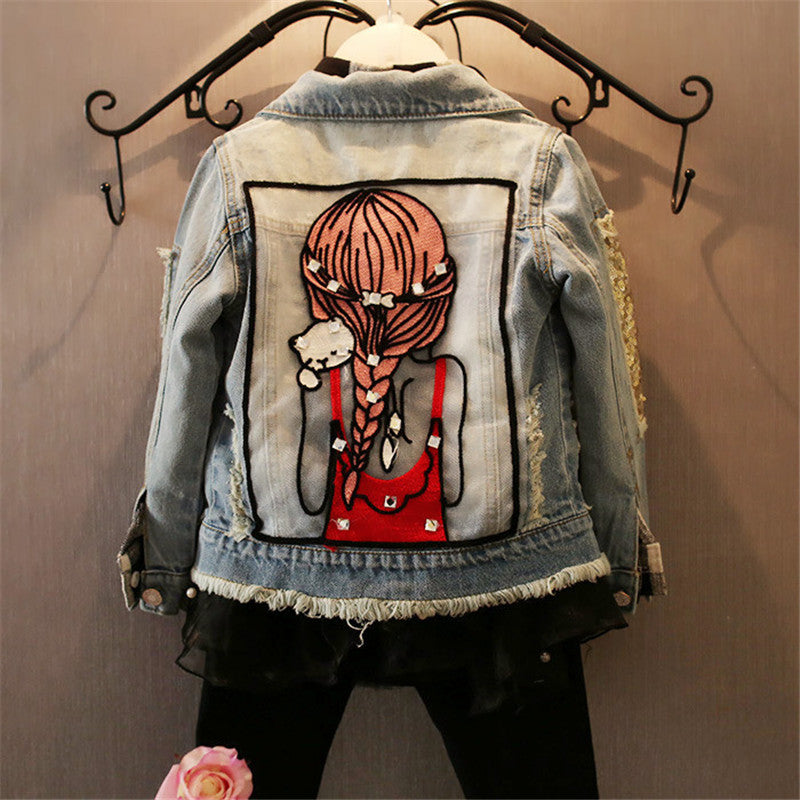 Cool Children Girls Denim Jackets