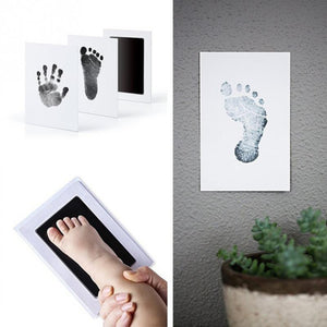 Baby Touch Handprint and Footprint Ink Pads 100% Non-Toxic