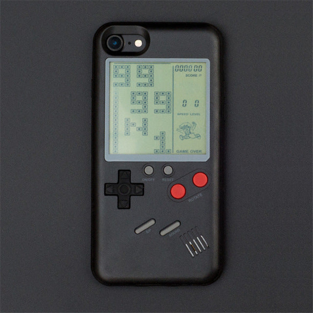 The Only One Famous Tetris Family Matching Phone Case for Iphone X, 6, 7, 8, 8Plus