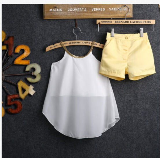 Fashion Girls Summer Outfits 2pcs