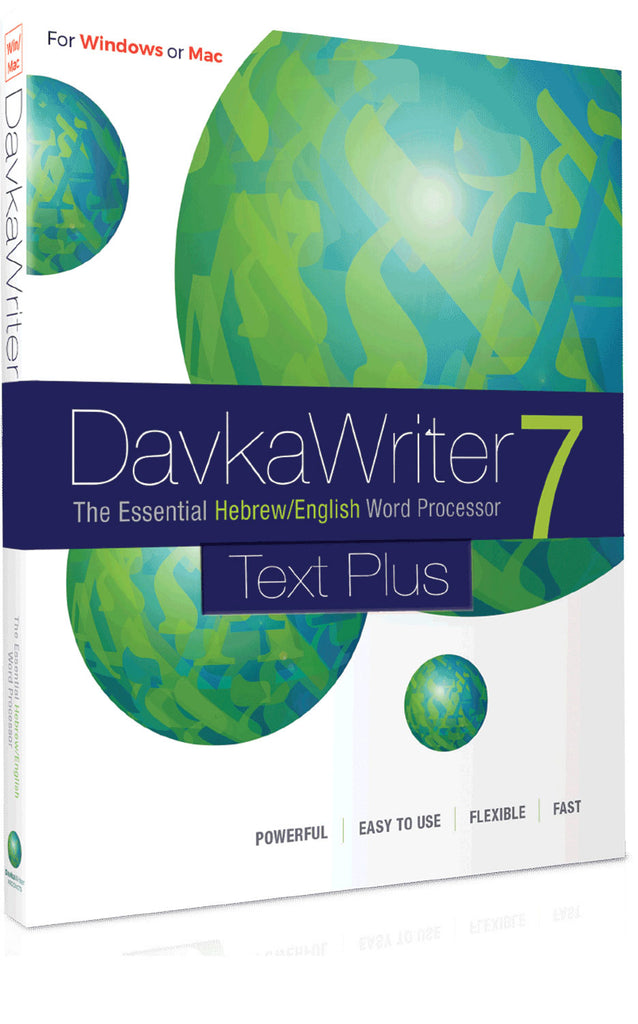 DavkaWriter Text Plus