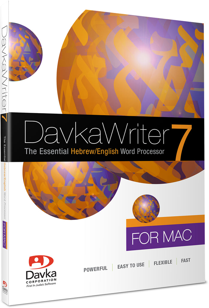 DavkaWriter 7 for Mac - MOJAVE UPDATE