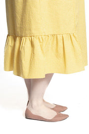 Honey Gingham Dress