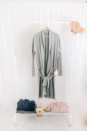 Heather Gray Lounge Cardigan