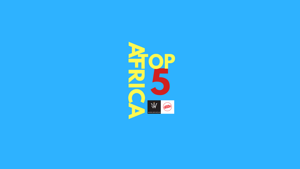 Africa Top 5 Afrobeats Music Video Countdown EPs 3.