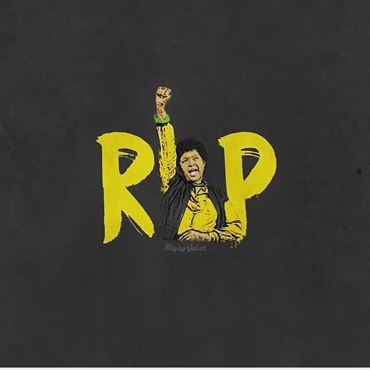 R.I.P (Rest In Power) Winnie Mandela.