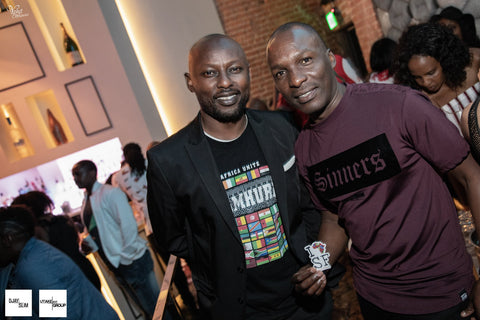 DJ Edu and Kimathi of Jamhuri Wear I AFRICA SF PARTY JULY 21st 2018