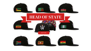 Jamhuri Wear Shop Now African Nations Head Of State Snapback