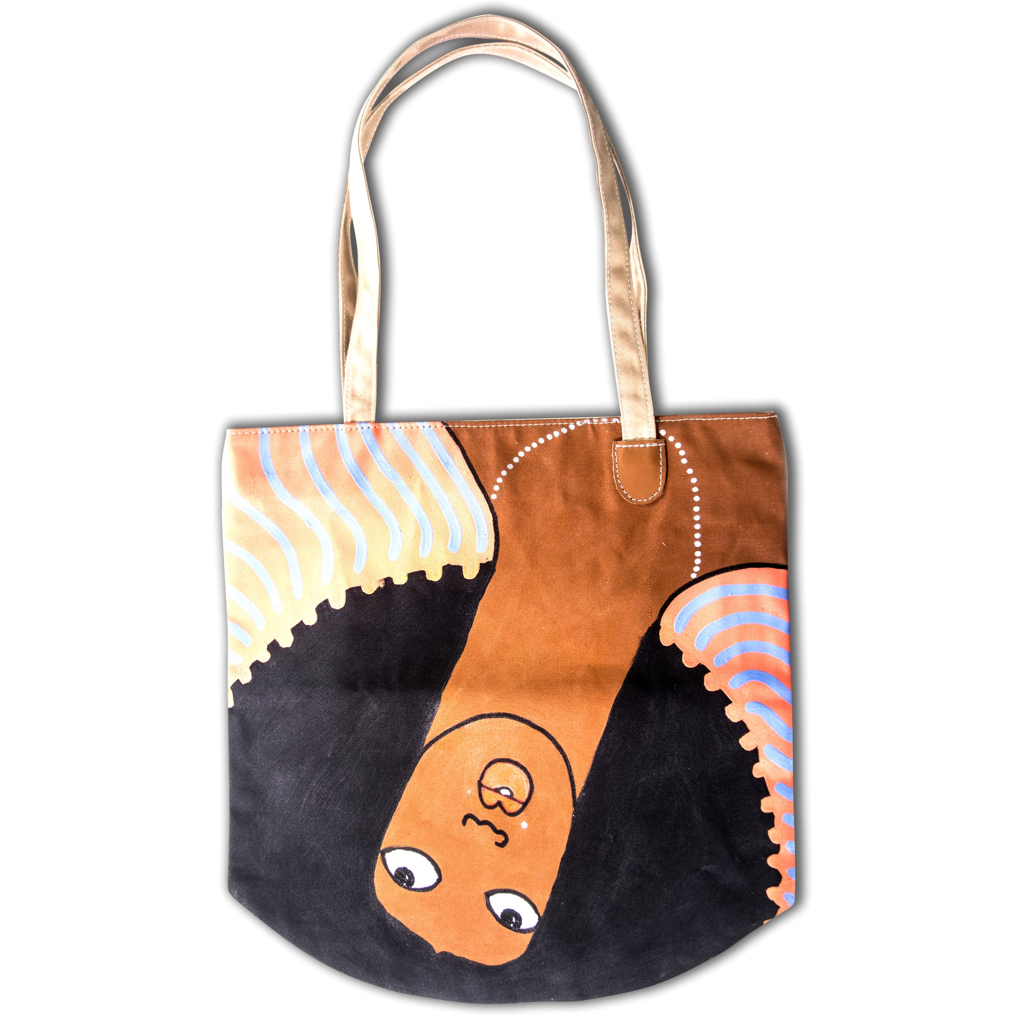 Michael Soi Art Bag tote #5 now available at Jamhuri Wear Market Boutique