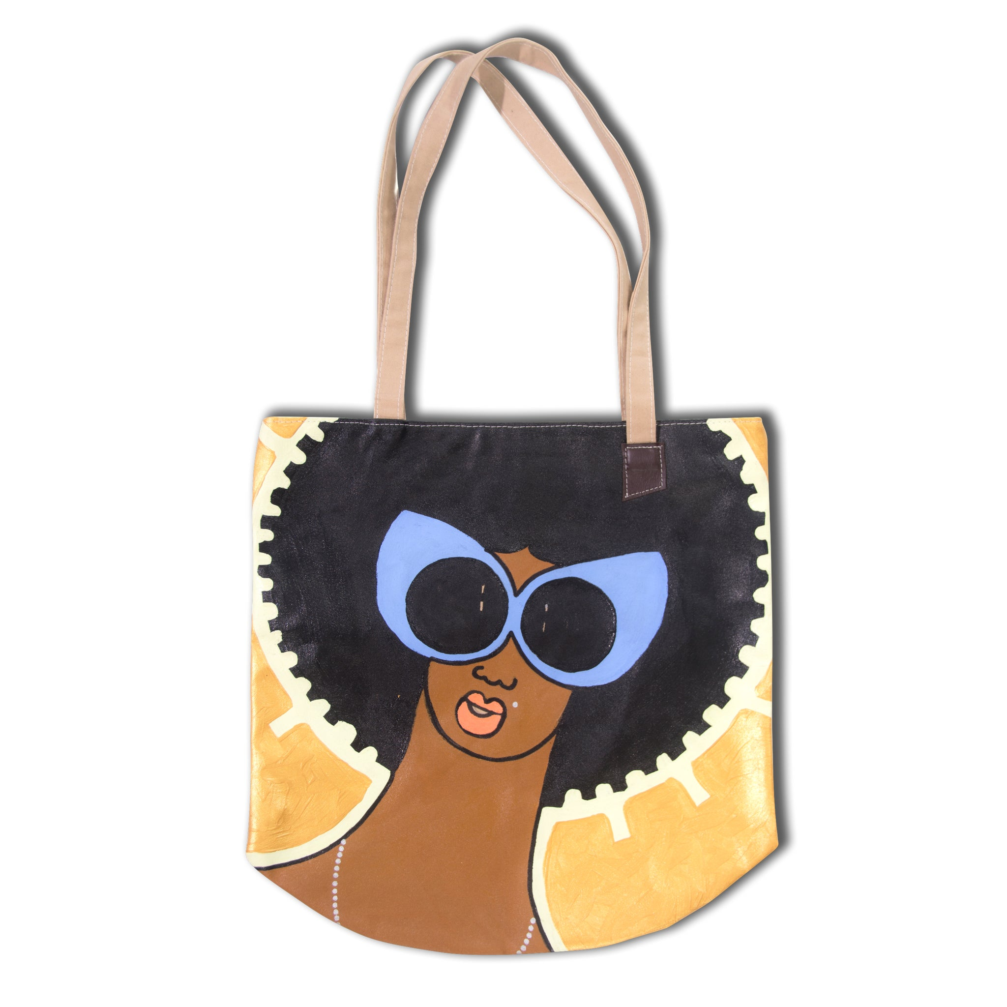 Michael Soi Art Bag tote #2 now available at Jamhuri Wear Market Boutique
