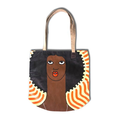 Michael Soi art tote bags 1/1 available at Jamhuri Wear market boutique