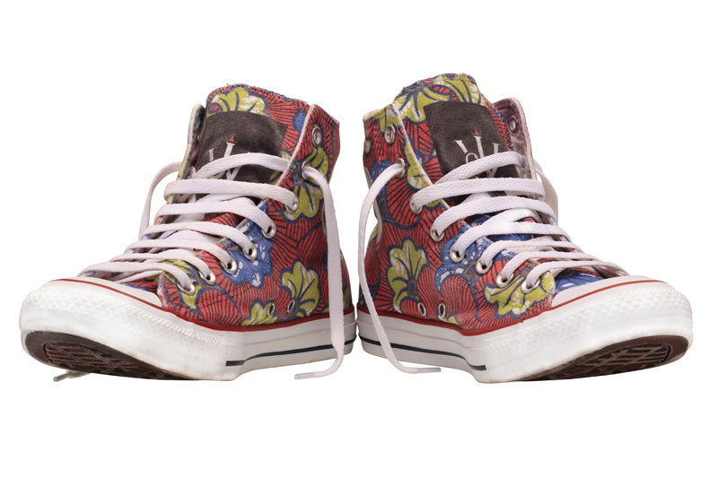 Ankara All Star Converse High Sneakers LE - jamhuriwear.com