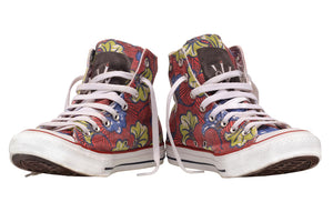 Jamhuri Wear Ankara All-star Limited Edition Converse Chucks Sneakers High