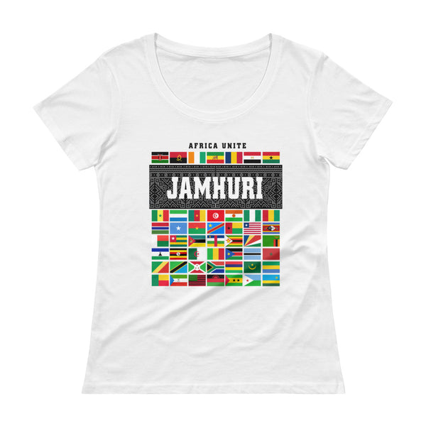 Africa Unite Ladies t-shirt Jamhuri Wear