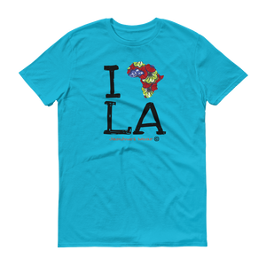 I AFRICA L.A LOS ANGELES NAIROBI BLUE T-SHIRT