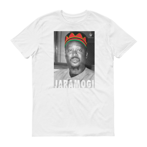Jaramogi Odinga White T-shirt by Jamhuri Wear