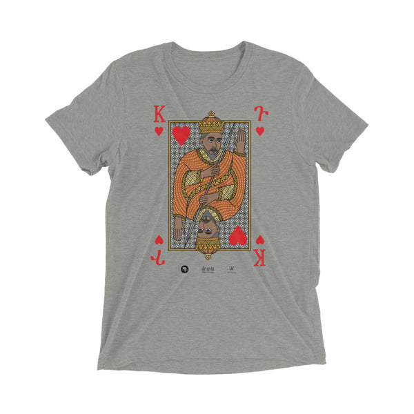 Black King of Hearts Royal Tee Mens S/S t-shirt