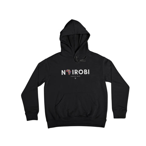 Nairobi A 4 Africa All City pullover hoodie - jamhuriwear.com