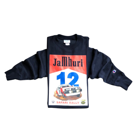 Safari Rally Champion Crew Sweatshirt - jamhuriwear.com