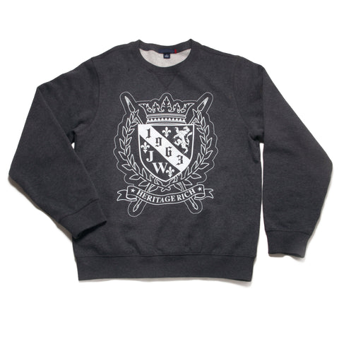 Family Crest sweater by Jamhuri Wear
