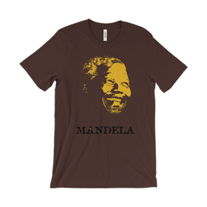 Nelson Madiba Mandela Brown T-shirt
