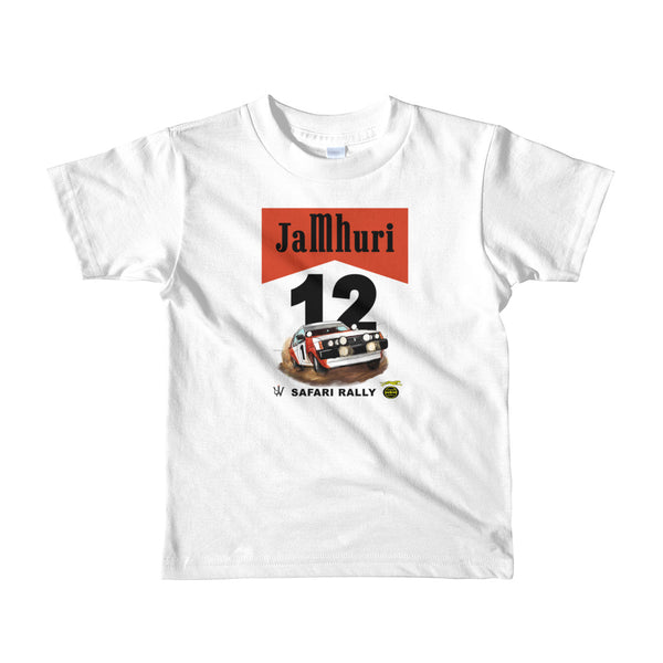 Safari Rally Retro Girls T-shirt