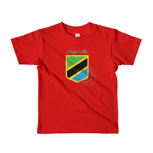 Tanzania Badge of Honor Boys T-shirt - jamhuriwear.com