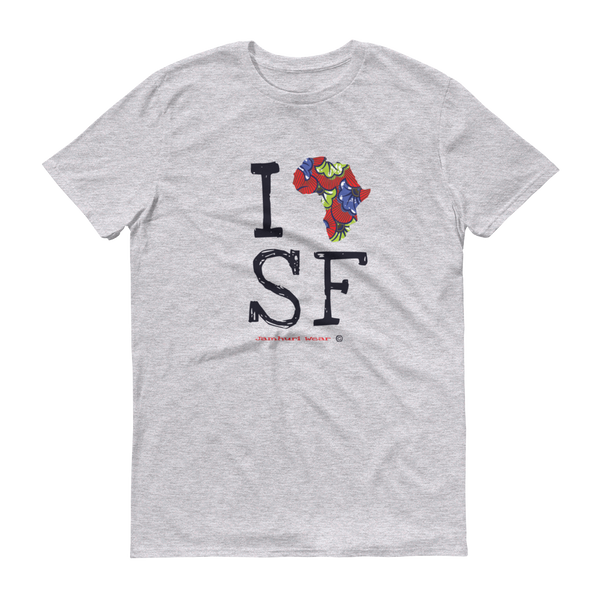 I Africa S.F San Francisco t-shirt Jamhuri Wear