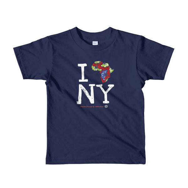 I Africa N.Y (New York) Kids T-shirt