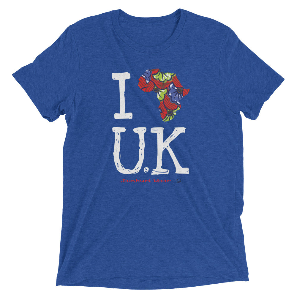 I Africa U.K (United Kingdom) Short sleeve t-shirt - jamhuriwear.com