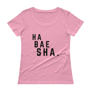 Habesha Ladies' Scoopneck T-Shi