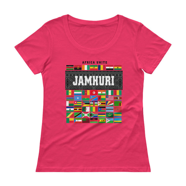 Africa Unite Ladies T-shirt