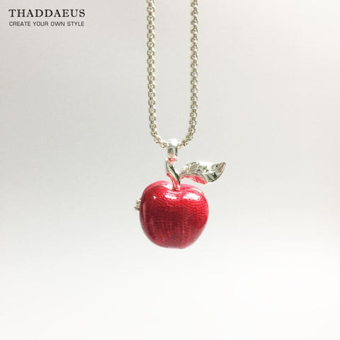 Pendant big red apple applelatino pendant big red apple jewelry aloadofball Image collections