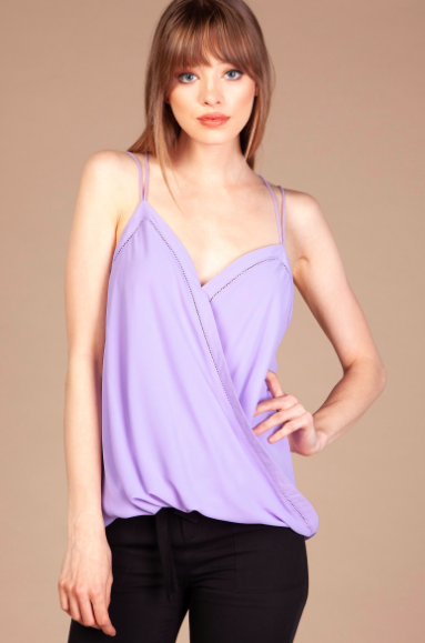 Freya Surplice Top