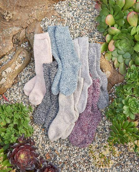 Cozychic Barefoot Dreams Heathered Socks