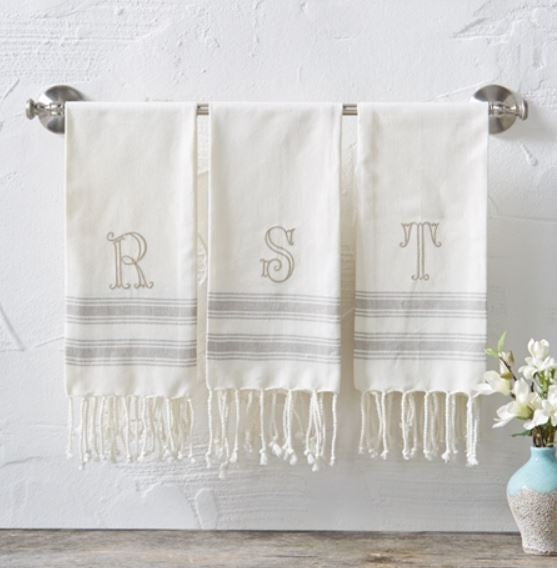 Initial Turkish Towel