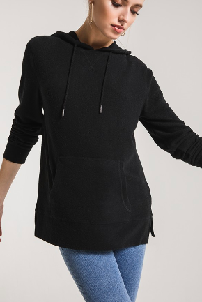 The Soft Spun Knit Hoodie