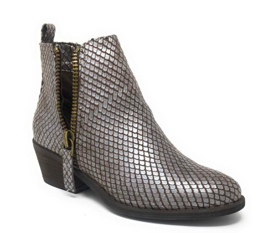 Cassidy Zip Side Bootie