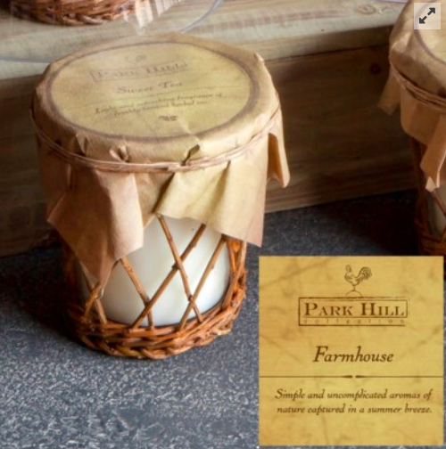 Farmhouse Style Candle