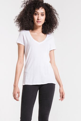 The Core Cotton V Tee