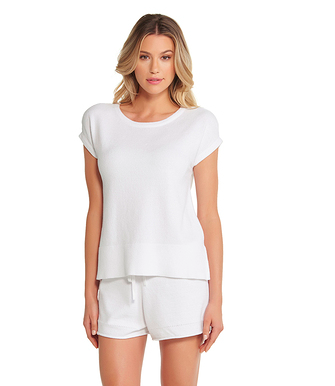 The Ultra Cozychic Lite Cap Sleeve Tee