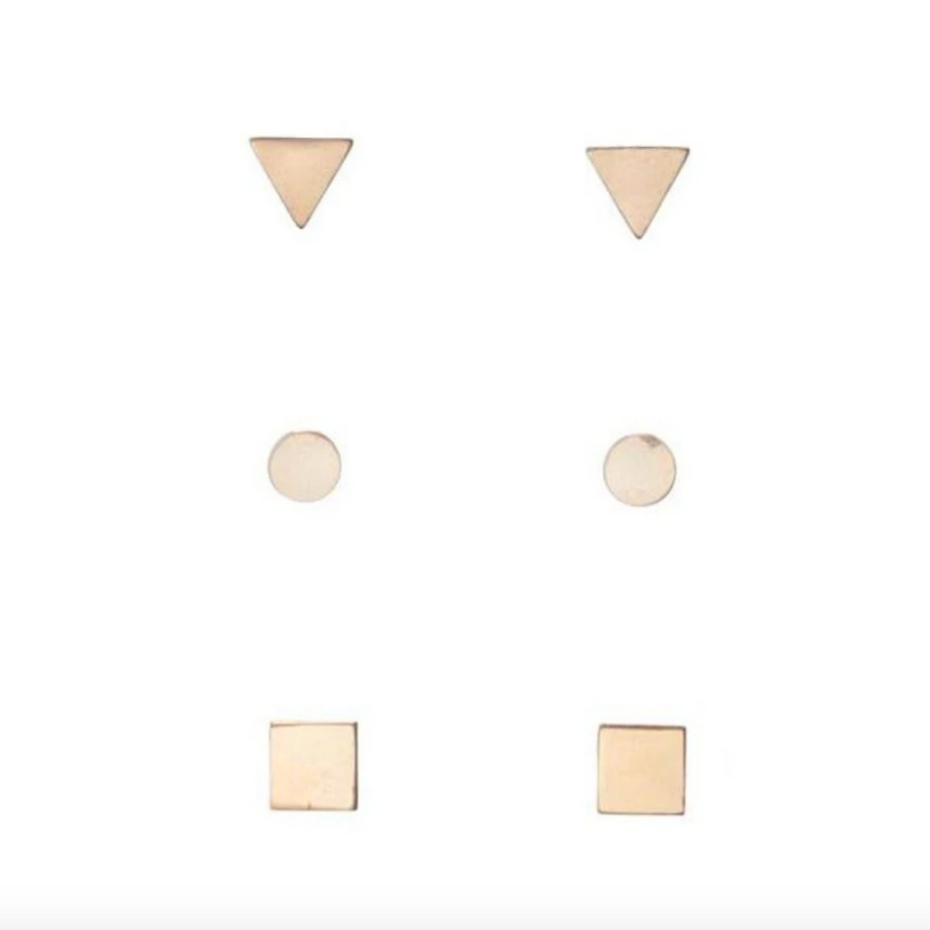 egirl Geometry Earring Set