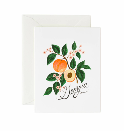 Georgia Peach Boxed Card Set