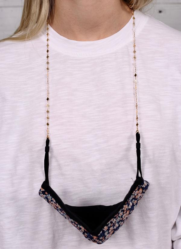 Cantini Link Mask Chain Necklace