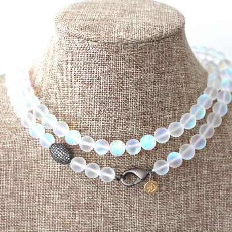 Long Attachment Beaded Necklace