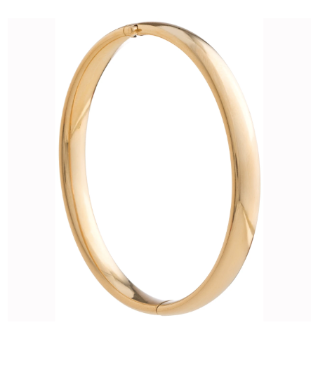 Cherish Gold Bangle Bracelet