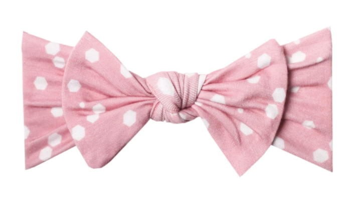 Knit Headband Bows
