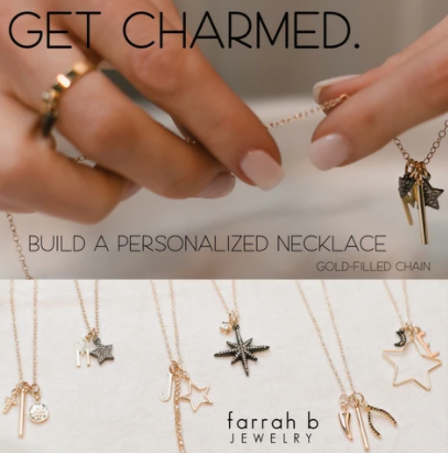 Charm Bar Necklace